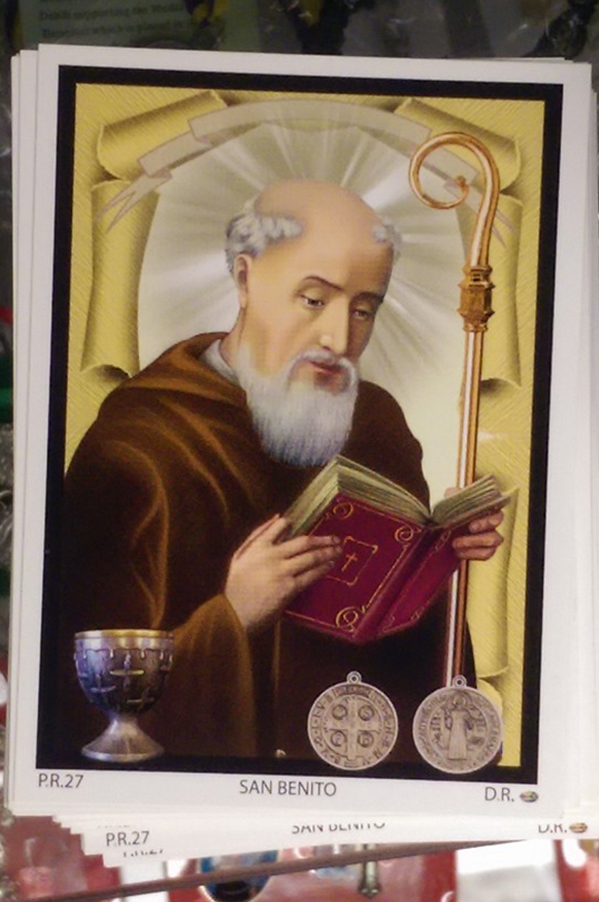 Saint Benedict Card | Mystical Products in Houston, TX